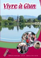 Vivre à Glun n° 27 – Edition 2017-2018