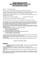 CR séance du 25 janvier 2021